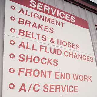 full automotive services